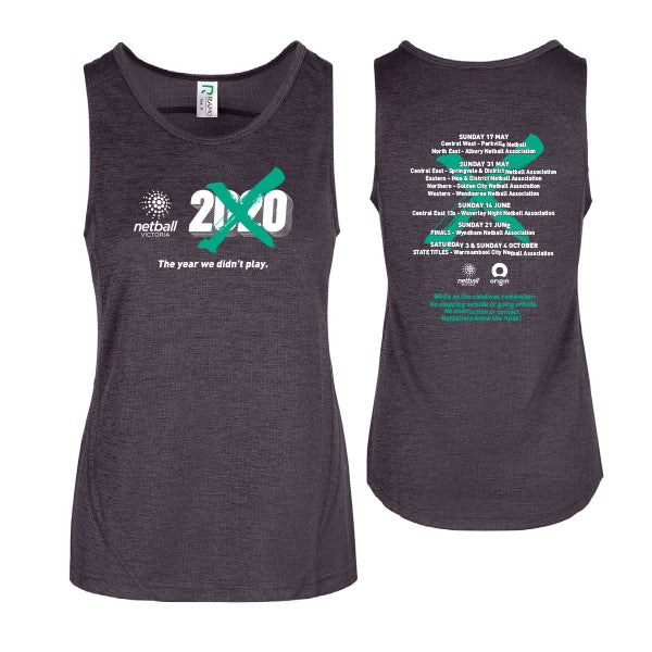NV Gap Year 2020 Womens Training Singlet