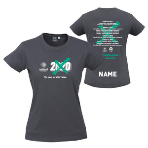 NV Gap Year 2020 Womens Tee with Custom Name