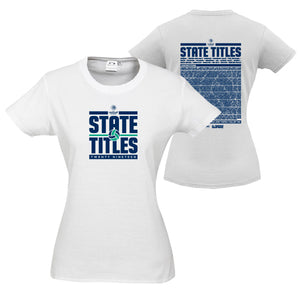 NV State Titles Cotton Tee Women