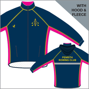 Penrith RC Unisex Regatta Jacket with Hood & Fleece