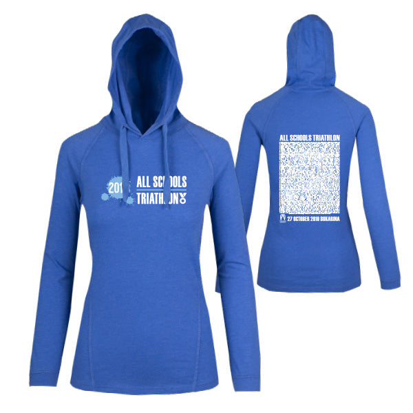 Tri QLD All Schools Champs Lightweight Hoodie Women