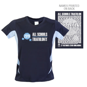 Tri Qld All Schools Champs Tee Kid