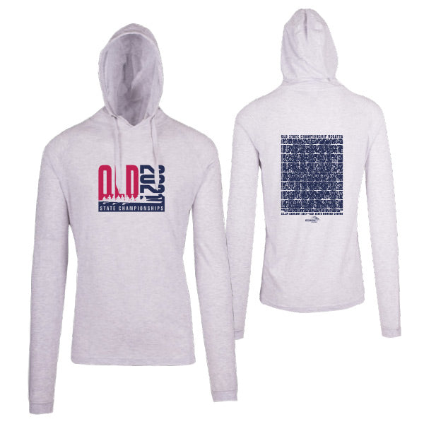 QLD State Championships Lightweight Hoodie Men