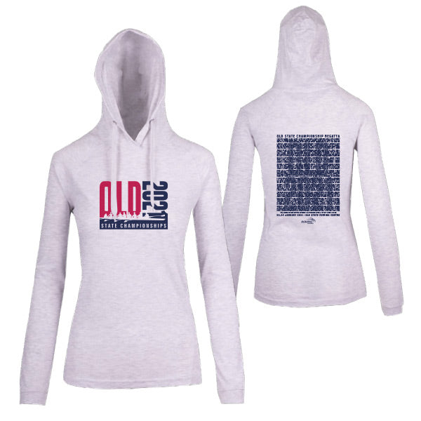QLD State Champs Lightweight Hoodie Women