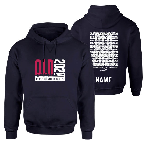 QLD State Champs Hoodie with CUSTOM NAME