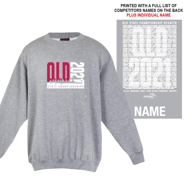 QLD State Champs Windcheater with CUSTOM NAME