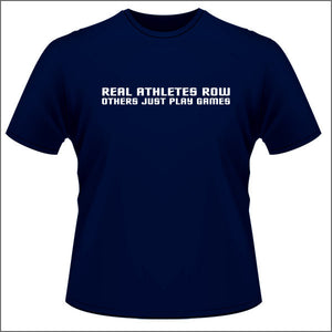 Real Athletes Row - Unisex T Shirt