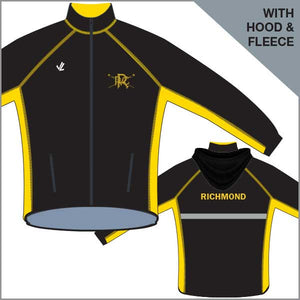 Richmond RC Regatta Jckt Unisex w/ Hood & Fleece
