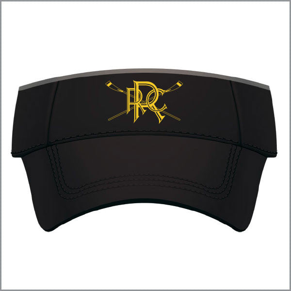 Richmond RC Microfibre Visor - Black