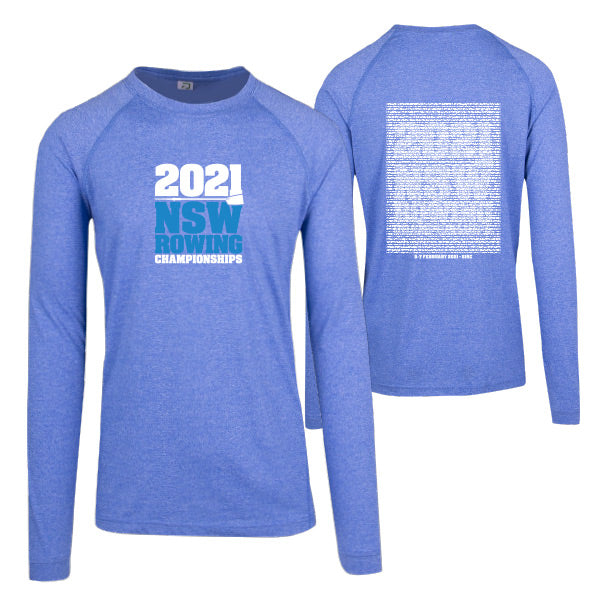 NSW Rowing Champs Long Sleeve Tee Men
