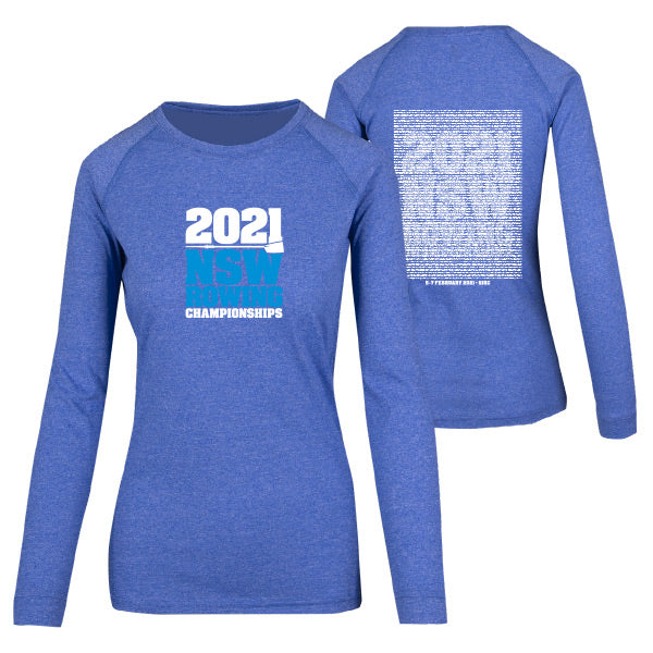 NSW Rowing Champs Long Sleeve Tee Women