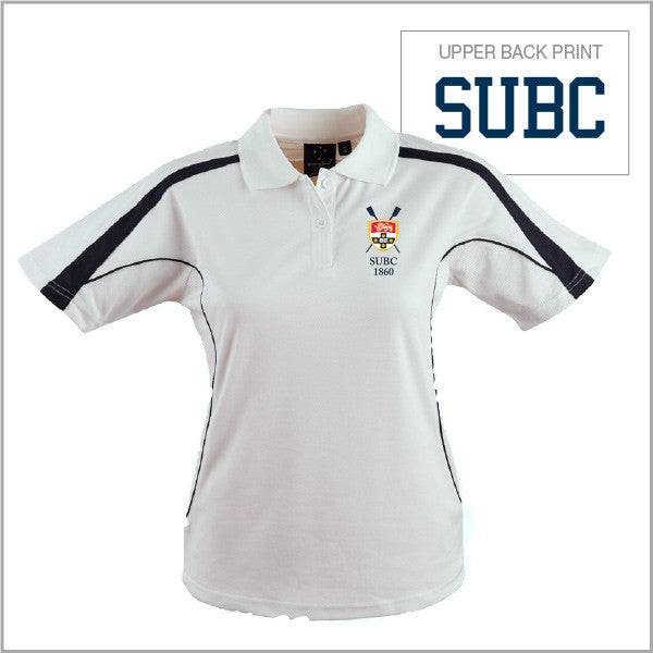 SUBC Polo Women - White