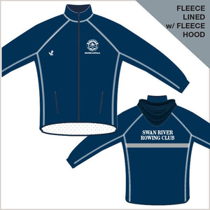 Swan River Regatta Jacket - Hood & Fleece