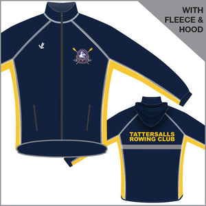 Tattersalls RC Unisex Jacket Hood and Fleece