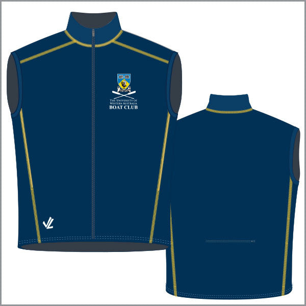 UWA High Neck Splash Vest Men