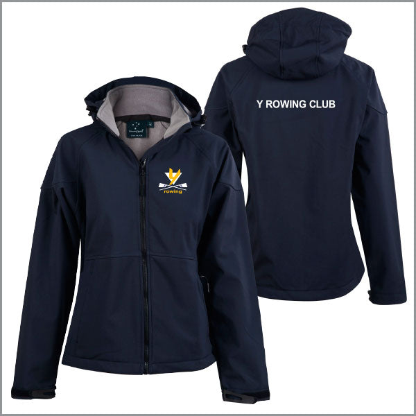Y Rowing Club Softshell Jacket Women
