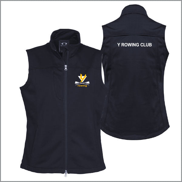 Y Rowing Club Softshell Vest Women