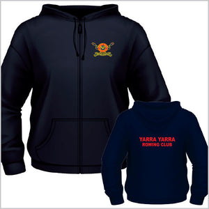 Yarra Yarra RC Junior/Ladies Zip Hoodie