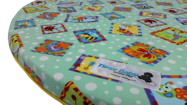 Tipsy Baby Sitting Mat / Play Mat - Buzz Buddies - 110516 Baby Mat, Play Mat