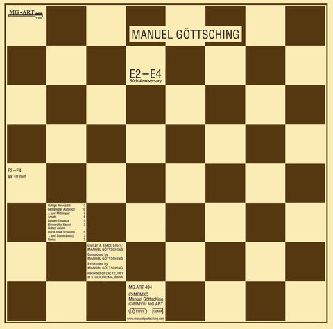 Manuel Gottsching - E2-E4 (35th Anniversary Edition)