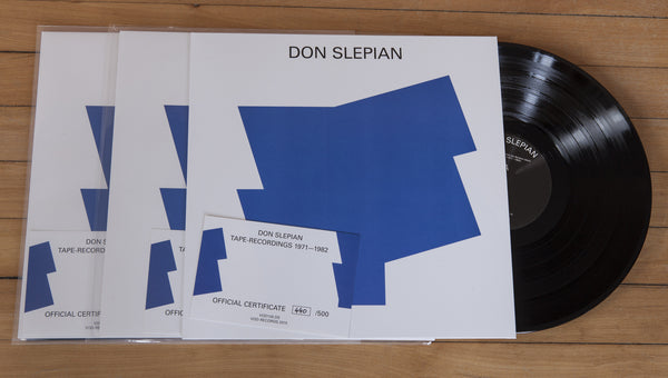 Don Slepian - Tape Recordings 1971-1982