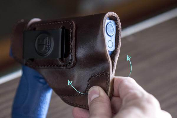 [Series] Making It Work: Breaking in leather holsters.