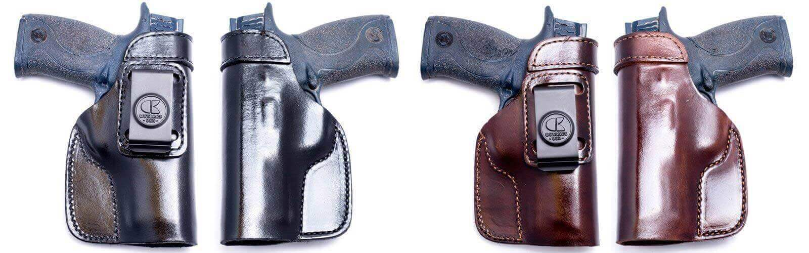 THE LOB1S - IWB LEATHER HOLSTER