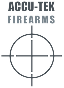 Gray logo for Accu-Tek firearms