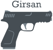 Girsan logo in gray