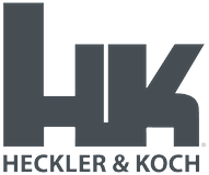 Heckler & Koch logo in gray