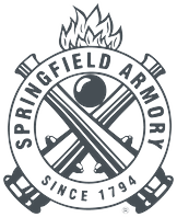 Gray logo for Springfield Armory