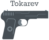 Tokarev logo in gray