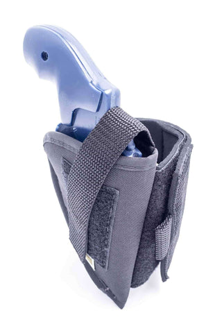 "NANK15 · Nylon Ankle Holster · For most 2"" 5-shot small frame revolvers"