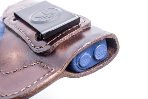 J/&J SIG SAUER P250 P320 SUBCOMPACT IWB INSIDE WAISTBAND FORMED LEATHER HOLSTER