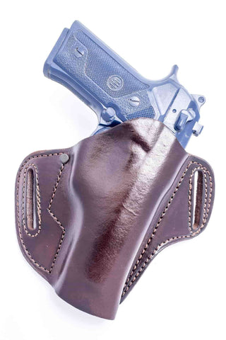 The LP10 - OWB Leather Pancake Holster