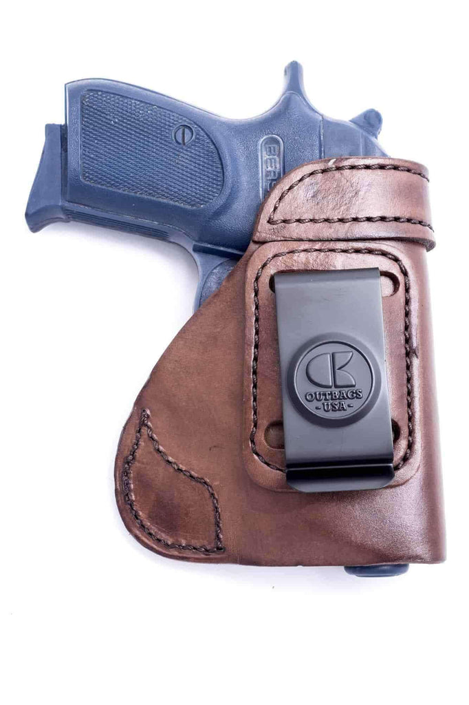 The LS6 - IWB Leather Holster - OUTBAGS USA