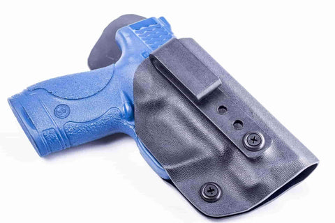 Calamity FF1 · Kydex IWB Holster with Leather Comfort Tab
