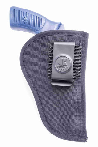"NS08 · Nylon IWB Conceal Carry Holster · For most 2.5-3"" 6-shot revolvers"