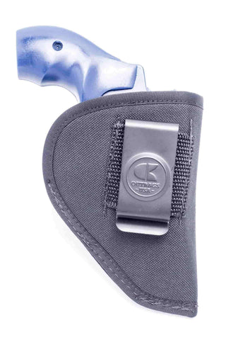 "NS15 · Nylon IWB Conceal Carry Holster · For most 2"" 5-shot small frame revolvers"
