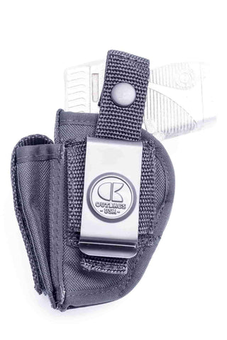 NSC01 · Nylon OWB Holster with Mag Pouch