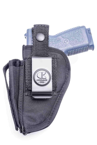 NSC02 · Nylon OWB Holster with Mag Pouch