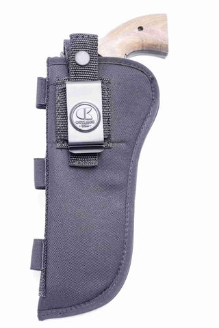 "NSC10 · Nylon OWB Holster with Ammo Loops · For most 6"" 6-shot revolvers"