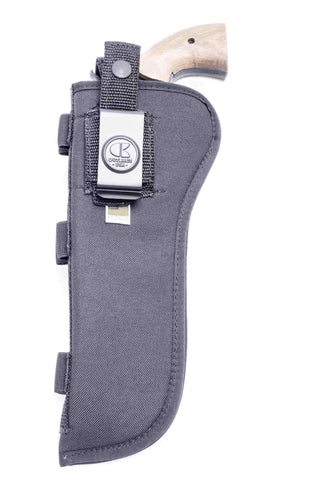 "NSC11 · Nylon OWB Holster with Ammo Loops · For most 6.5-7"" 6-shot revolvers"