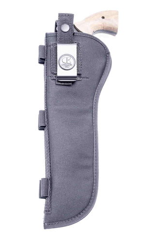 "NSC12 · Nylon OWB Holster with Ammo Loops · For most 7.5-8"" 6-shot revolvers"
