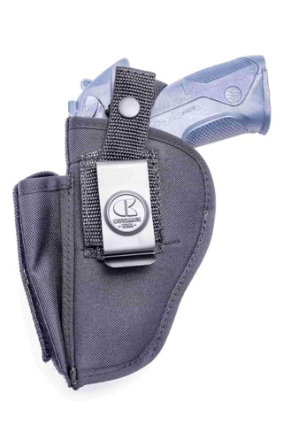 NSC16 · Nylon OWB Holster with Mag Pouch