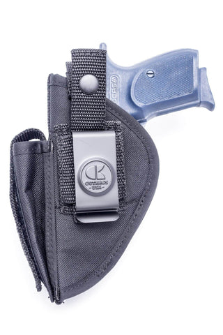 NSC22 · Nylon OWB Holster with Mag Pouch