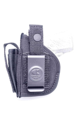 NSC32 · Nylon OWB Holster with Mag Pouch