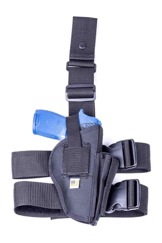 NTAC17 · Nylon Thigh Holster with Mag Pouch for Desert Eagle