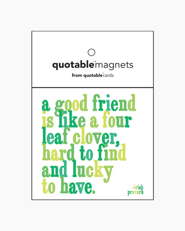 Magnet - Proverb - A Good Friend