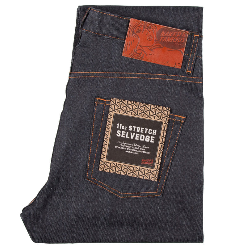 Naked and Famous EasyGuy 11oz Stretch Selvedge